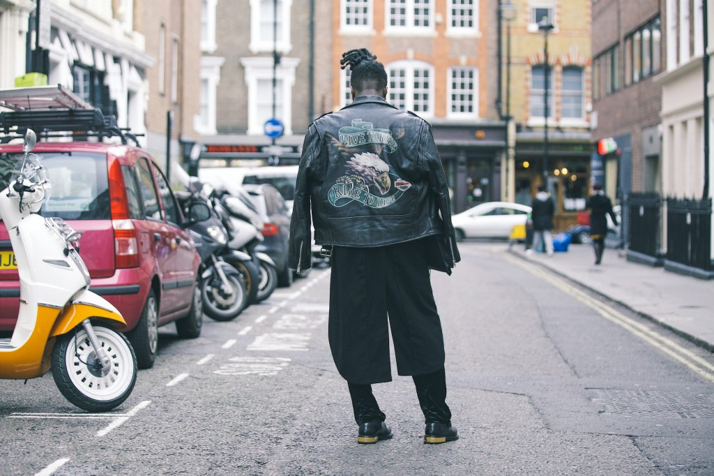 Lontoossa katukuva